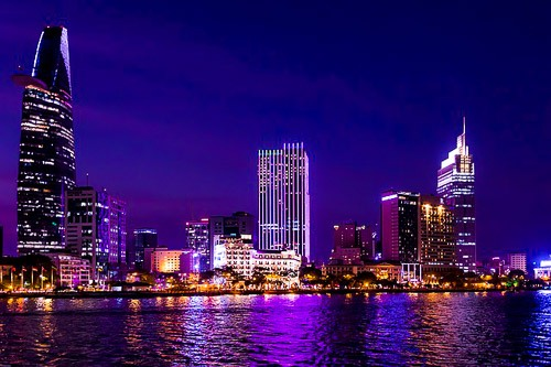 Saigon night luxury travel
