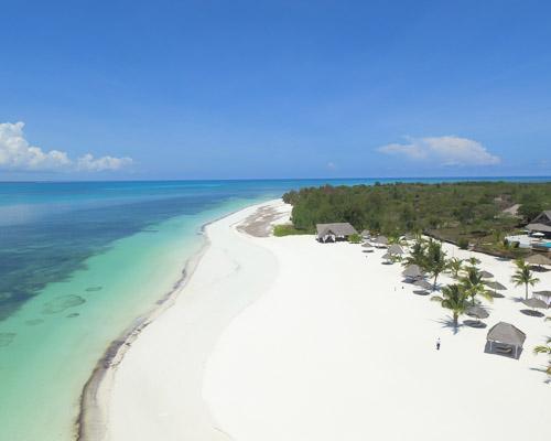 Beach hotel Africa