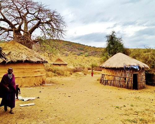 massai land africa