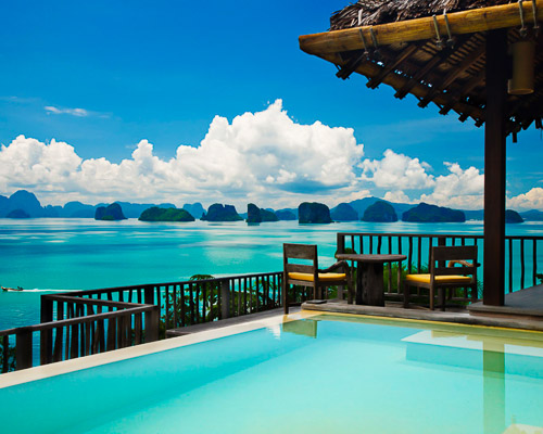 pool villa Yao Noi Thailand